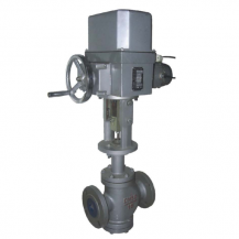 ZAZN Double seat electric control valve