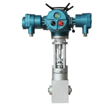Electric main steam trap control valve