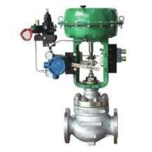 Pneumatic actuated globe control valve