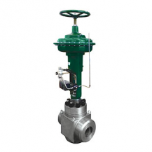 Pneumatic high pressure regulating valve