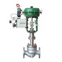 Pneumatic steam control valve