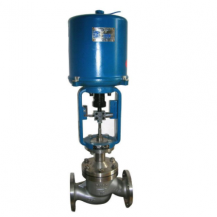 Electric actuated globe control valve