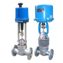 Electric modulating control valve