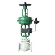 Pneumatic gas flow control valve