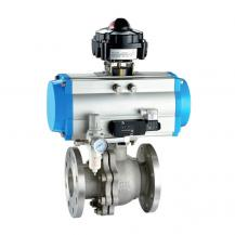Pneumatic Operated On Off Ball Valve